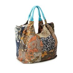Look what I found at UncommonGoods: Upcycled Indonesian Batik Bag for $35 #uncommongoods
