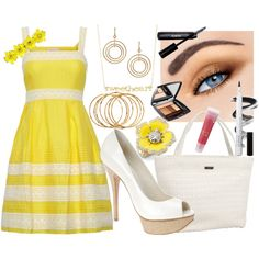 """""""Sunshine"""" by theheartsclubqueen on Polyvore"""