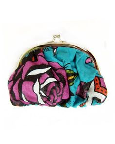 Iron Fist Love Me Not Rockabilly Anchor amd Roses Vegan Kiss-lock Coin Purse Iron Fist. $15.85. Save 21% Off!