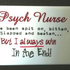Psych Nurse battle wounds