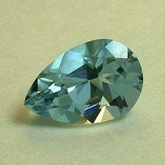 VINTAGE Faceted BLUE AQUAMARINE Loose gemstone 1.11 cts fg101 pkg 1. $277.50, via Etsy.    I love the color on this aqua!