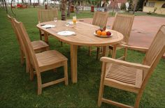 Best Teak Patio Dining Set And Details About Teak Patio Dining Set Outdoor Furniture Table Chairs 44 Outdoor Wood Furniture, Teak Furniture, Patio Furniture Sets, Garden Furniture, Furniture Ideas, Furniture Cleaning, Modern Furniture, Teak Table, Patio Table