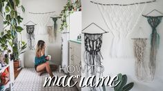 How To Macrame // Beginner's Tutorial (Easy, Step by Step Knots)