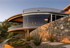 Carver + Schicketanz designed the Coastlands House for a retired couple in Big Sur, Califonia