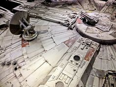 original millennium falcon model DETAIL - Google Search