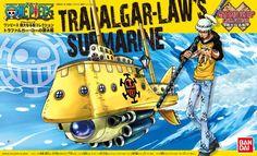 Bandai Hobby One Piece Trafalgar Law's Submarine Grand Ship Collection Model Kit