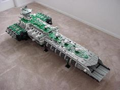 A-Wing Carrier: A LEGO® creation by Daniel Jassim : MOCpages.com