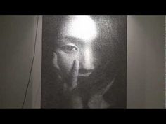 Ephemeral Portraits Cut from Layers of Wire Mesh by Seung Mo Park