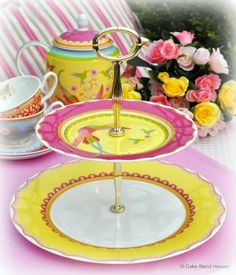 Cake Stand Heaven's 2 Tier Cake Stands Collection
