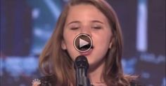 10 year old Anna Christine sings like a pro