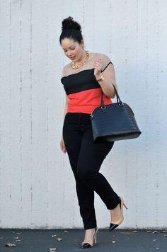 039a99d35e1 Plus size fashion Work Fashion