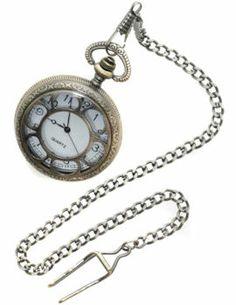 Steampunk Deluxe Pocket Watch. http://www.getiton-fancydress.co.uk/halloweenhorror/halloweencostumes/halloweensteampunk/steampunkdeluxepocketwatch?cPath=821_939&#.Uvt9-vsry10