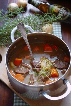 Katie's Wonders: Irish beef stew with beer