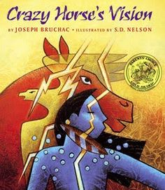 The Good Long Road: Book Review: Crazy Horse's Vision {Native American Heritage Month Blog Hop} @jfischer3345