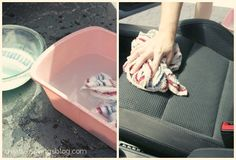 DIY Car Upholstery Cleaner - assuming I ever get around to cleaning my car