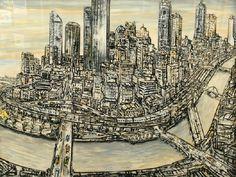 Jan Senbergs (1939- )   Melbourne, 1997
