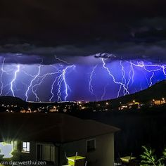 People's Weather DSTV Channel 180 - Google+ Lightning Photos, Channel, Weather, Neon Signs, Google