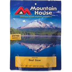 Backpacking dinners: *Mountain House Beef Stew, *Uncle Bens 5 min rice with salmon