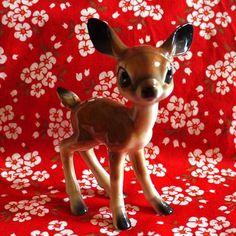Bambi ... I remember having this, but I think one of the legs got broke.  Wonder if Mom still kept it?