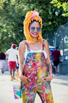 That bag! #refinery29 http://www.refinery29.com/2015/08/91360/afropunk-2015-music-festival-street-style-pictures#slide-19