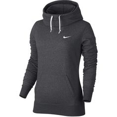 Nike Funnel Club Hoodie ($55) ❤ liked on Polyvore featuring activewear, nike, nike pullover, nike activewear, nike sportswear and sweater pullover