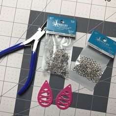 One of the most fun projects I've worked on lately is faux leather earrings. They