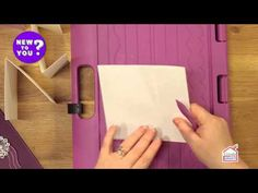 Making Different Card Folds Using a Score board with Leann Chivers | New To You - YouTube