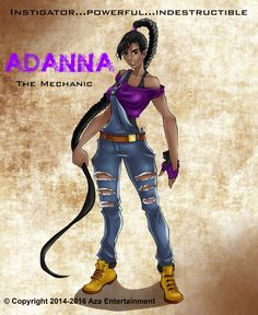 Pin for Later: This Is What Multicultural Superheroes Look Like: Awesome Adanna
