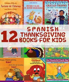 12 Spanish Thanksgiving Books for Kids - Growing Up Blackxican