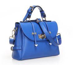 Fineplus Fashion Womens Genuine Padlack Cow Leather Shoulder Strap Tote Bags Handbag designer Purses Electric Blue fineplus http://www.amazon.com/dp/B00HC1B6U8/ref=cm_sw_r_pi_dp_RAv2ub0KMF6M6