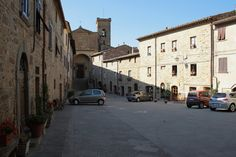 Slow day in Chianni, Tuscany Tuscany, Medieval, Street View, Tuscany Italy, Middle Ages