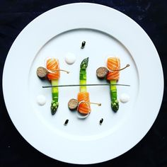 Foodstar Drouin Charles (@charles__drouin) shared a new image via Foodstarz PLUS /// Asparagus Salmon  #asparagus #salmon #plating #capers #foodlover #foodstarz  If you also want to get featured on Foodstarz just join us create your own chef profile for free and start sharing recipes images and videos.  Foodstarz - Your International Premium Chef Network by foodstarz_official
