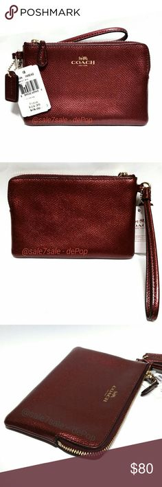 4d284e0710 NWT Crossgrain Leather Corner Zip Wristlet Wallet -Brand new with tags  -100% Authentic