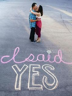 Wedding announcements don't have to be elaborate. We love this simple but cute chalk wedding announcement. #countrywedding http://www.gactv.com/gac/photos/article/0,3524,GAC_42725_6075192_01,00.html?soc=pinterest