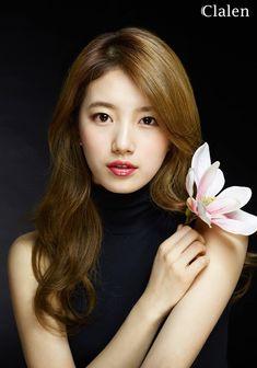 Suzy miss A Clalen 2016 Korean Beauty Standards, Miss A Suzy, Bae Suzy, Idole, My Hairstyle, Beautiful Asian Women, Korean Actresses, Ulzzang Girl, Korean Girl