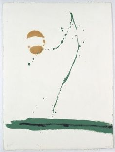 Beside the sea, Robert Motherwell