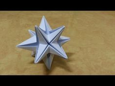 168 Origami 종이접기 (Star) 색종이접기 摺紙 折纸 оригами 折り紙 اوريغامي - YouTube