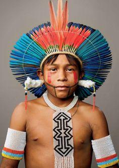 Kayapo Courage - Amazon, Brazil | National Geographic Magazine - January 2014