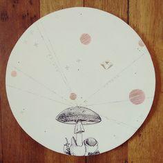 """"""" Producto de la aceleración de partículas imaginarias """" pieza única #Himallineishon #art #illustration #homedecoration #homedecor"""