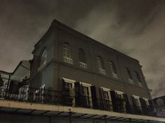 One of the most haunted places in America with a terribly gruesome past: Madame Delphine LaLaurie's Mansion of Horror. #neworleans #lalauriemansion #frenchquarter #hauntedhouse #nofilter by britannica89