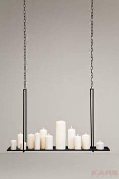 Candle Tray Castle Rectangular