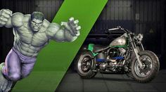 Harley-Davidson and Marvel teamed up to turn 27 iconic Marvel characters into custom motorcycles for a giveaway for residents in Australia and New Zealand. Custom Harleys, Custom Motorcycles, Custom Bikes, Harley Davison, Harley Davidson Dealers, Harley Davidson Bikes, Ghost Rider Motorcycle, Planet Hulk, Avengers