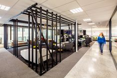 Creative Spaces assisted outdoor gear company Kathmandu with the design of their new office headquarters in Christchurch, New Zealand. Visual Merchandising, Christchurch New Zealand, Open Office, Workplace Design, Decorative Panels, Office Workspace, Design Furniture, Office Interiors, Retail Design