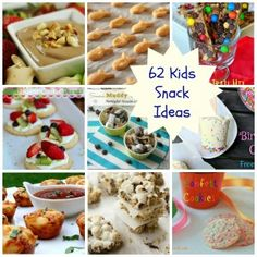 62 Kids Snack Ideas