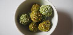 Matcha protein energy balls