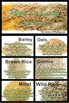 If you can boil water, then you can make whole grains a part of your diet. Whole grains are delicious and nutritious, supplying vitamins, minerals, protein and fiber. And there are many varieties to choose from, and types that are gluten free.