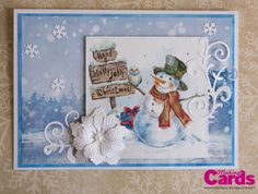 Made by Making Cards reader Monika Graefling-Gladysiak using the free craft papers provided with the Christmas Special 2016