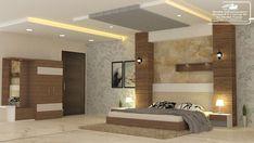 Modern Bedroom interior Design work by Sheikh infrastructures Bedroom Door Design, Bedroom False Ceiling Design, Bedroom Ceiling, Modern Bedroom Design, Bedroom Curtains, Bed Furniture, Furniture Design, Bedroom With Bath, Interior Design Work