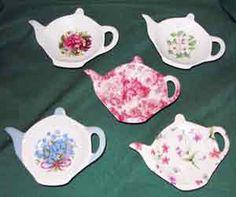 teaspoons and teabag holders   Tea Bag Caddy:
