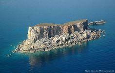 the island of Filfla, Malta